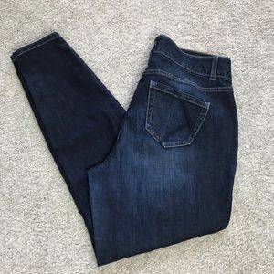 Lane Bryant Skinny Tighter Tummy Jeans T3 14 F209